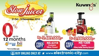 KUVINGS SLOW JUICER PROMO2